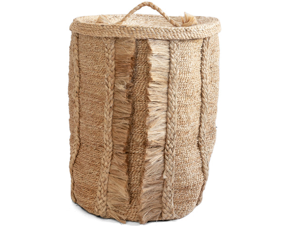 J'Jute - Round Basket Lid - Natural