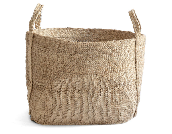 J'Jute - Andaman Moon Medium Basket - Natural