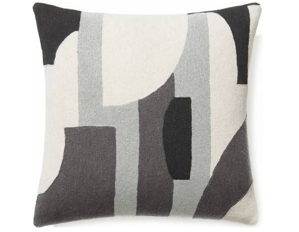 Judy Ross Textiles - Composition - Cream/Ice/Dark Grey/Charcoal