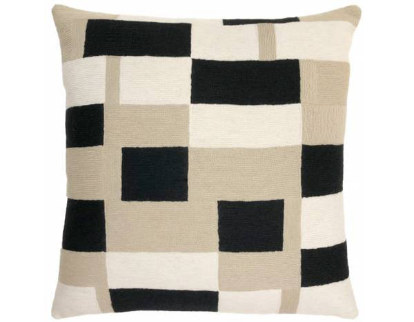 Judy Ross Textiles - Tempo - Oyster/Black/Cream