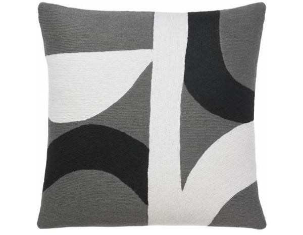 Judy Ross Textiles - Eclipse - Dark Grey/Black/Cream
