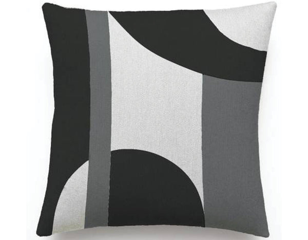 Judy  Ross Textiles - Luna - Cream/Black/Dark Grey