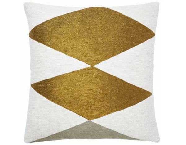 Judy Ross Textiles - Ace - Cream/Gold Rayon/Iron