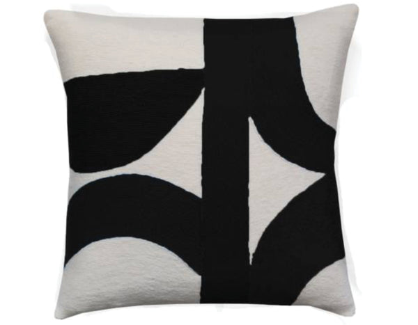 Judy Ross Textiles - Eclipse - Cream/Black