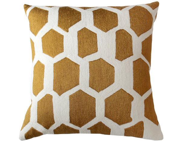 Judy Ross Textiles - Quartz - Cream/Gold Rayon