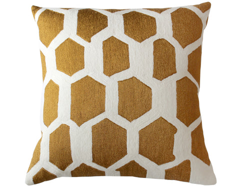 Teixidors - Sisteron Cushion - Natural/Black Edge