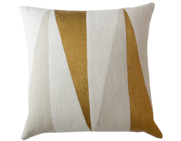 Judy Ross Textiles - Blade - Cream/Oyster/Gold Rayon