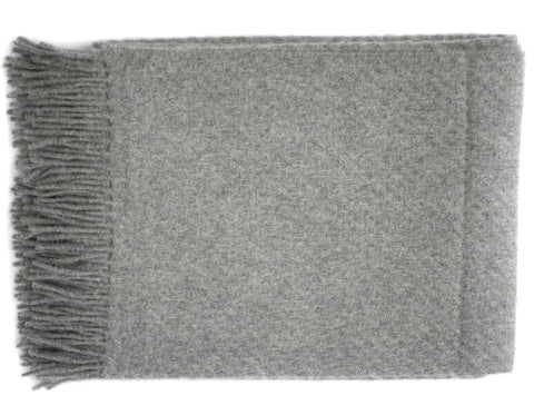 Linen Way - Soho Throw - Charcoal