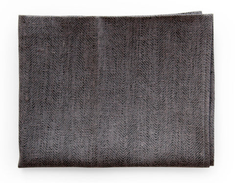 Linen Way - St. Louis Throw - Ivory/Lava