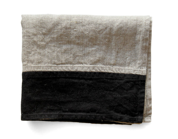 Linen Way - Le Chef Tea Towel - Natural/Black