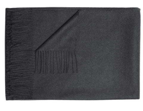 Linen Way - Duet Napkin - Natural & Charcoal Stitch