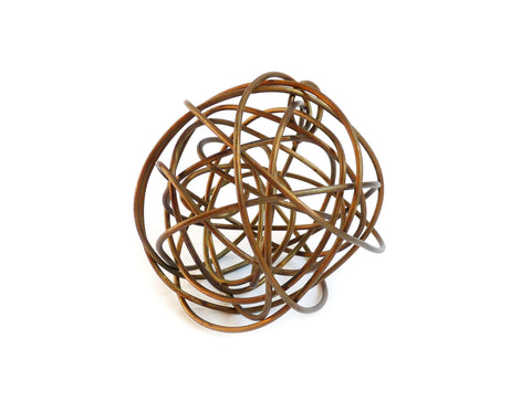 Martha Sturdy - Jackson Wire Sphere - Brass - 6
