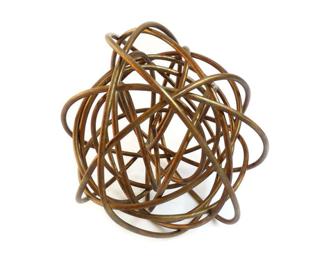 Martha Sturdy - Jackson Wire Sphere - Brass - 12""