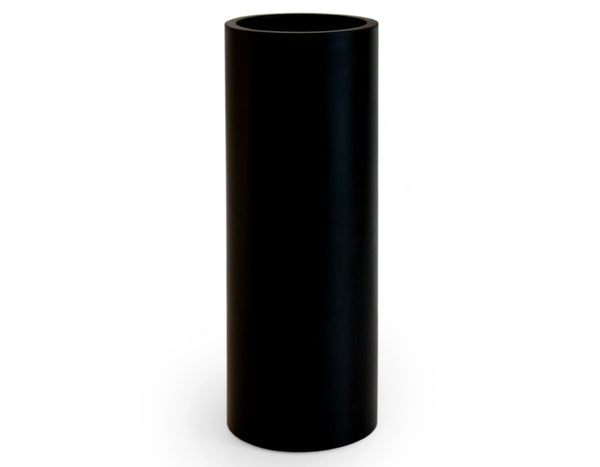 "Martha Sturdy - Whistler Round Vase 17"" - Solid Black"