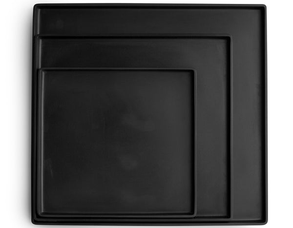 Martha Sturdy - Sturdy Square Tray - Solid Black