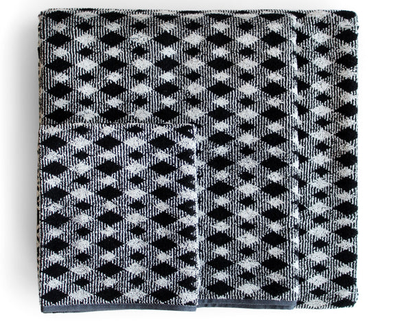 Viggo Towels 601 black | Missoni Home
