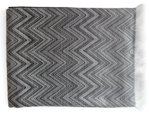 Blacksaw - Rattlesnake Reversible Throw - Ivory/Black
