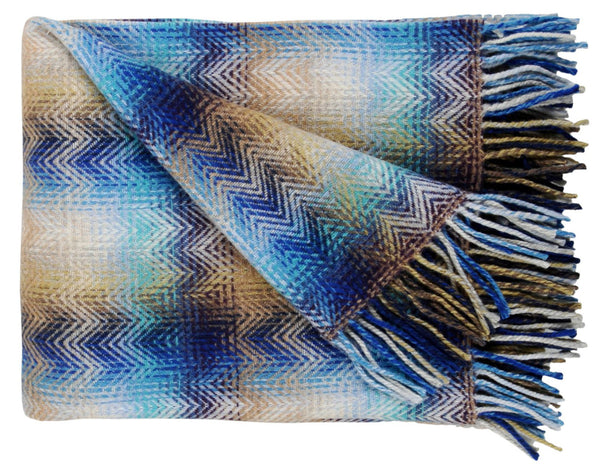 Montgomery Throw 170 blue | Missoni Home