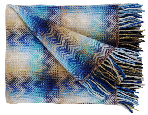 Blacksaw - Siempre Recycled Blanket - Light Heather