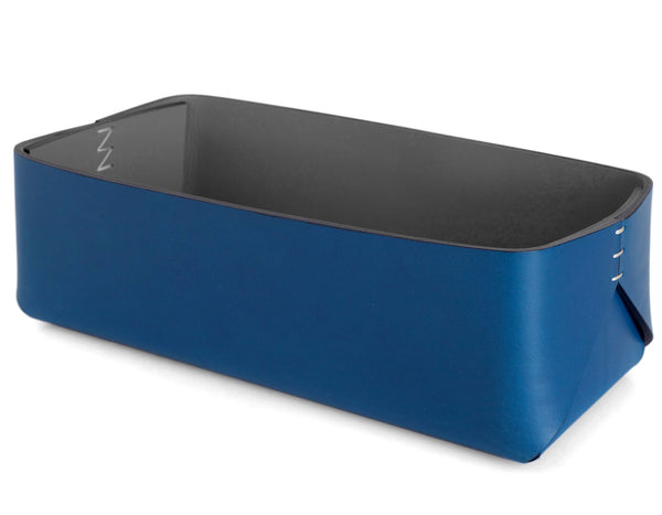 Oscar Maschera - Towel Box - Blue/Grey
