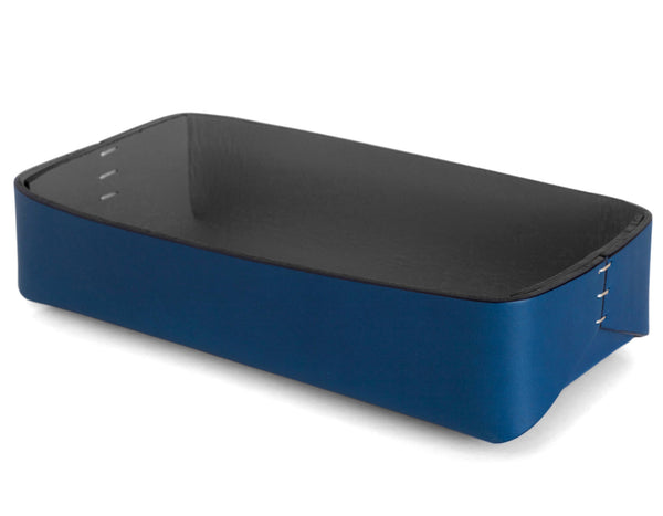 Oscar Maschera - Rectangular Tray 3 - Blue/Grey