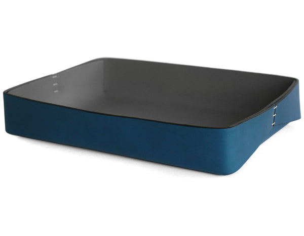 Oscar Maschera - Rectangular Tray 1 - Blue/Grey