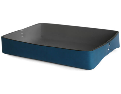 Oscar Maschera - Towel Box - Blue/Black