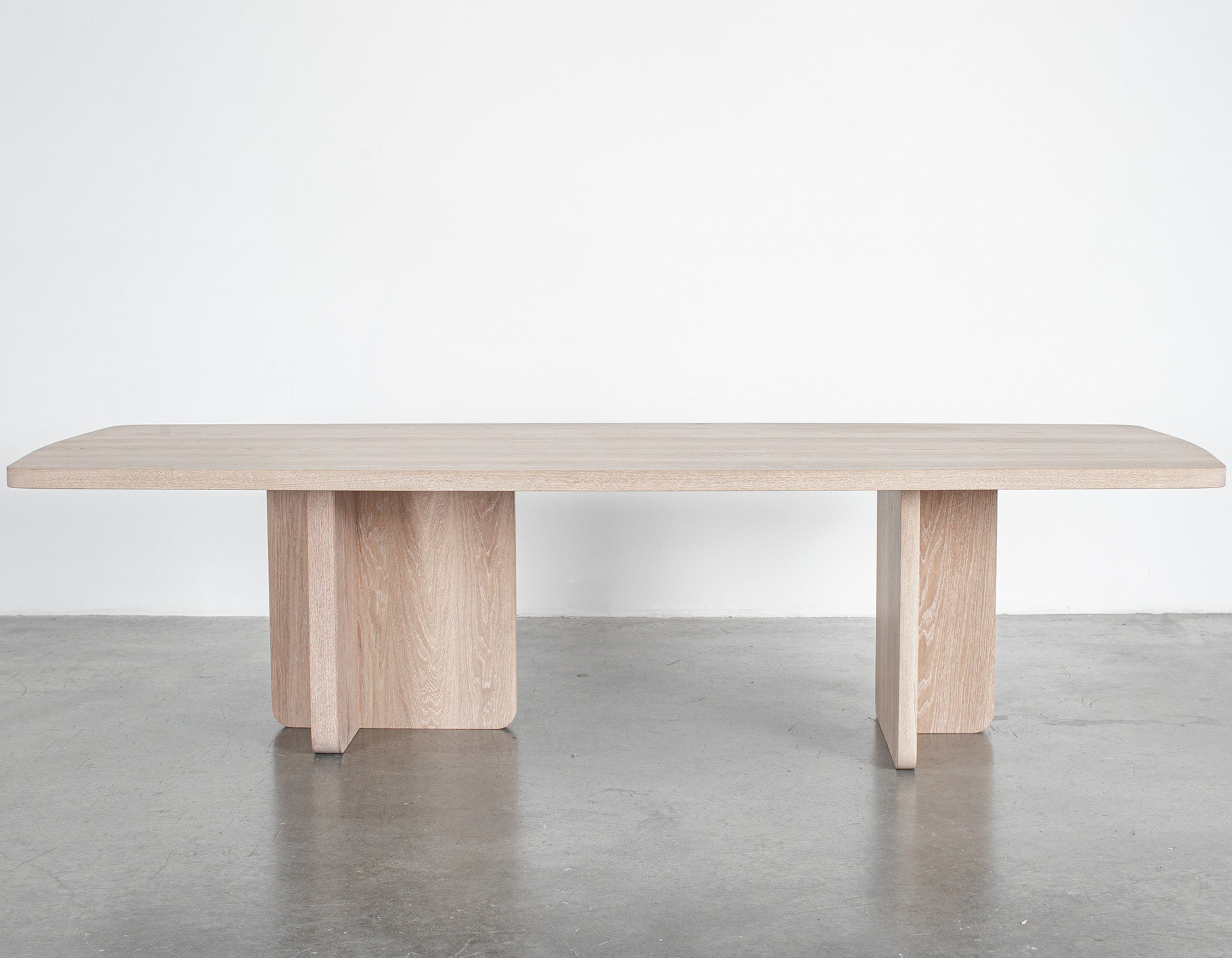 Provide X Lock & Mortice - Provide Series - Dining Table - White Oak