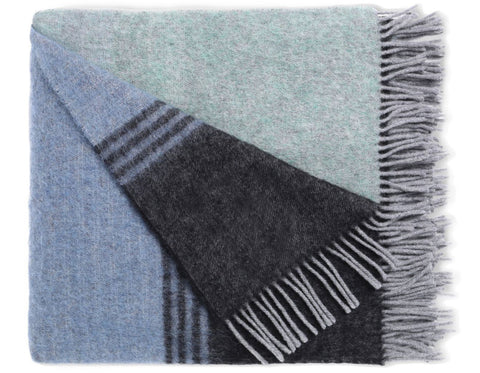 Linen Way - Urban Throw - Grey/Charcoal