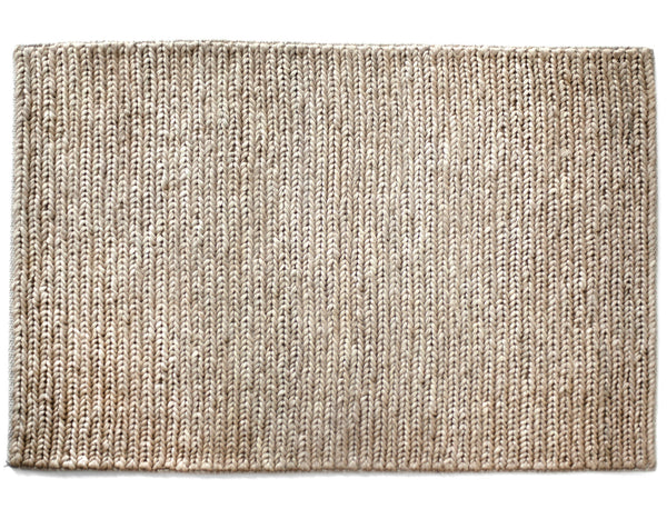 Provide Rugs - Skinny Braided Jute Doormat - Natural