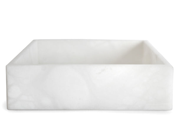 ROOM - Pitti Square Tray - Alabaster