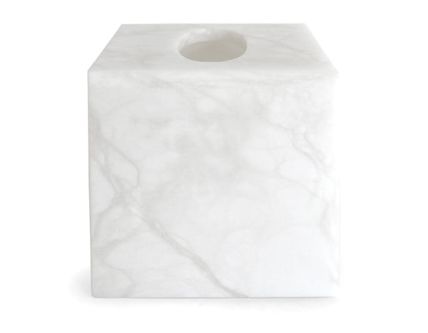 ROOM - PK Square Tissue Box - Alabaster
