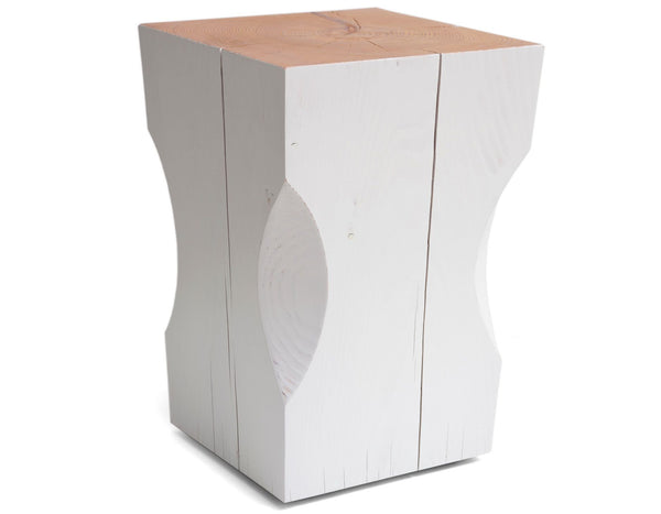 Barter - Gather Stool - White
