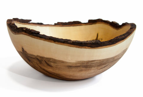 Stinson Studios - Round Bowl - Ebonized Oak 19