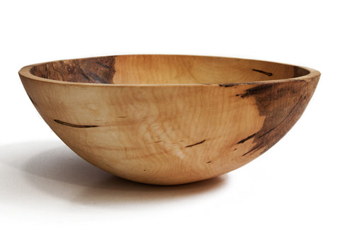 "Stinson Studios - Bark Edge Bowl 19"" - Ambrosia Maple"