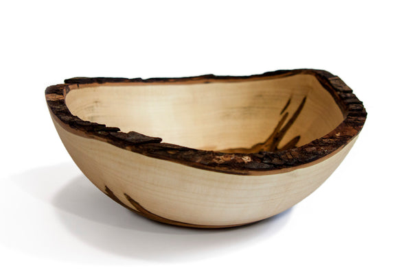 Stinson Studios - Bark Edge Bowl - Ambrosia Maple 11