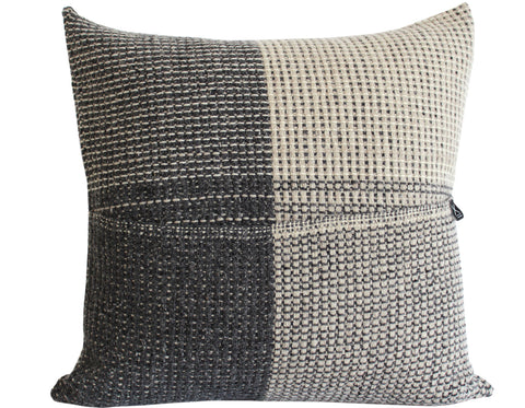 Linen Way - Cork Linen Cushion - Charcoal