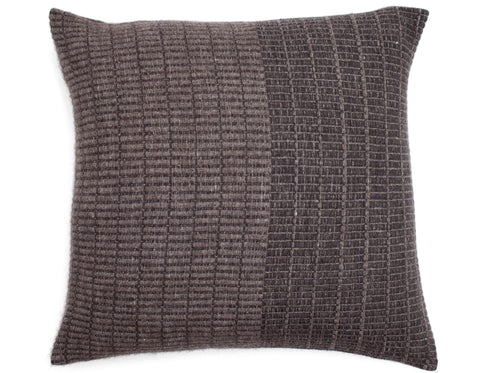Teixidors - Time Cushion - Dark Grey/Grey
