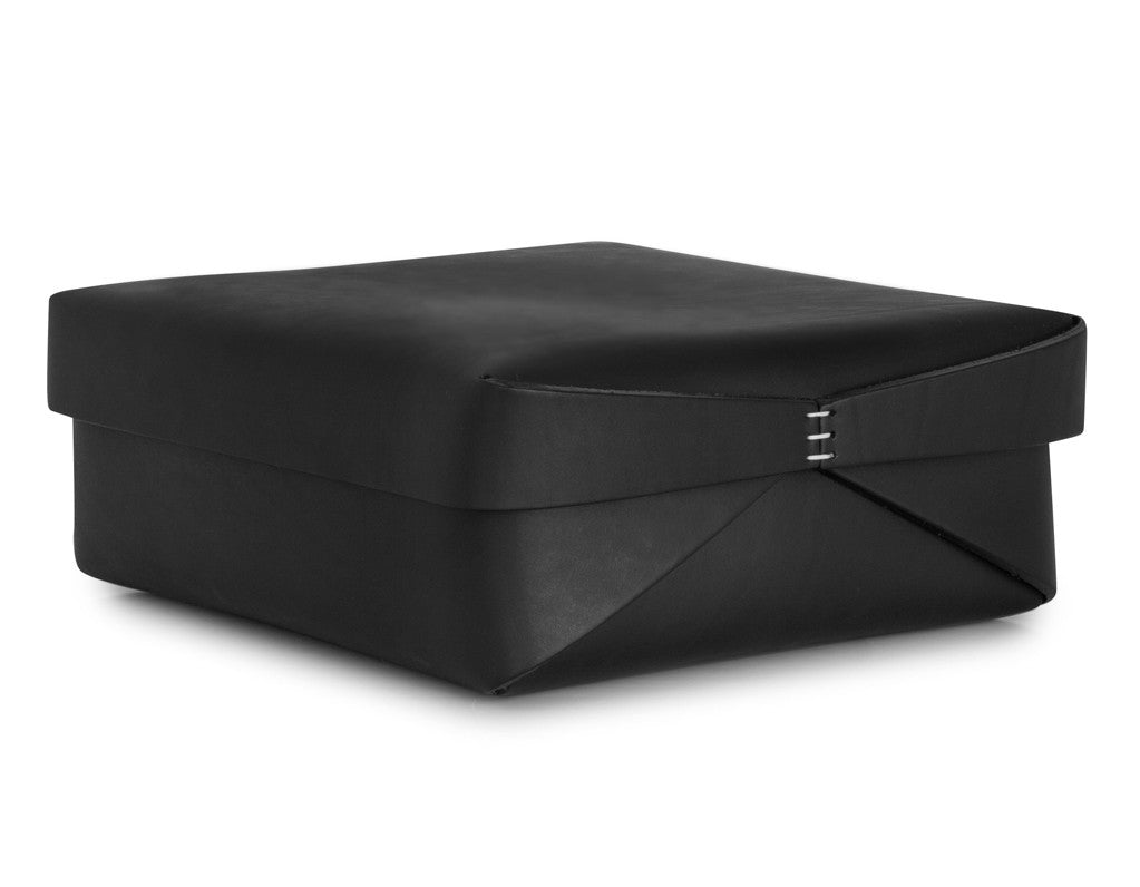 Oscar Maschera - Leather Square Box 2 - Black