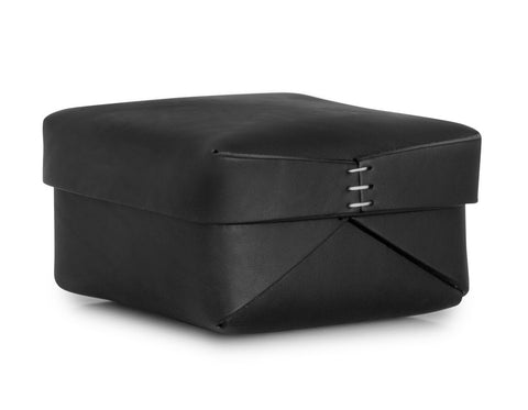 Oscar Maschera - Leather Square Box 3 - Black