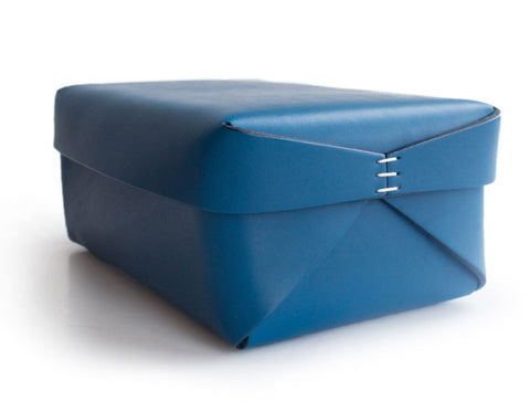 Oscar Maschera - Leather Rectangular Box 2 - Blue