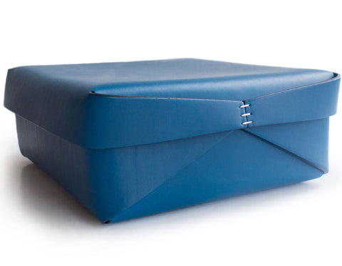 Oscar Maschera - Leather Square Box 2 - Blue