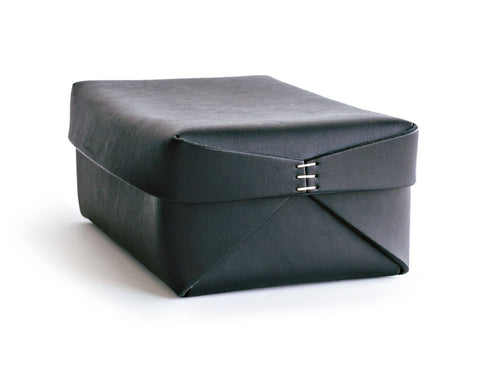 Oscar Maschera - Leather Rectangular Box 2 - Black