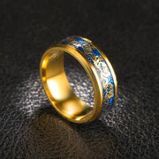 Dragon Engraved Ring