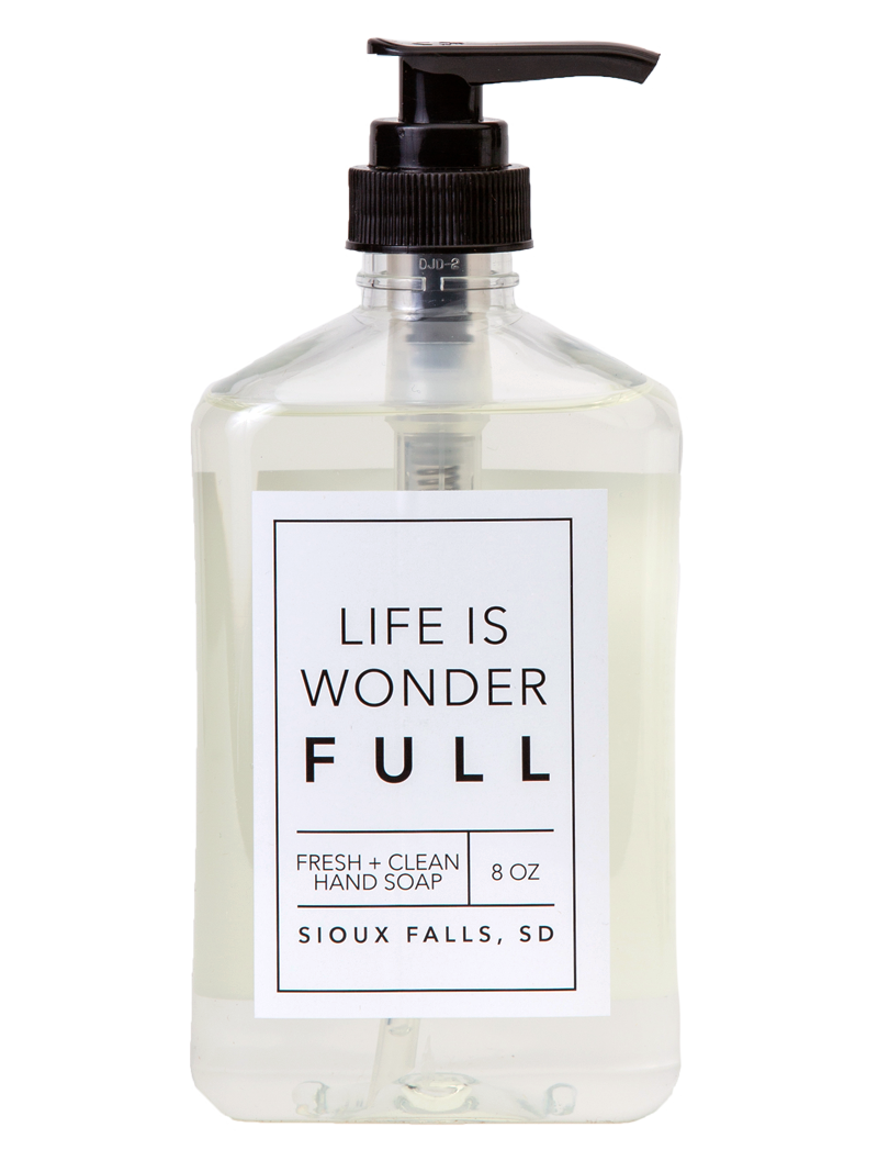 Wonderfull 8 oz Hand Soap
