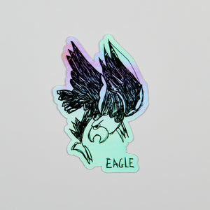 Eagle. (Holographic)