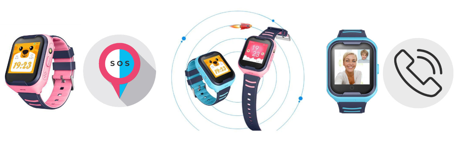 Smartwatch for Kids features