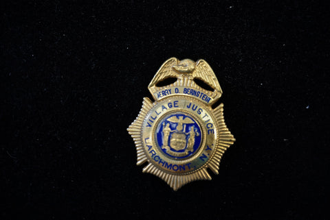 Gold Filled Larchmont NY Fire Badge