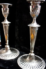 Gorham Federal Style Sterling Silver Candle Sticks