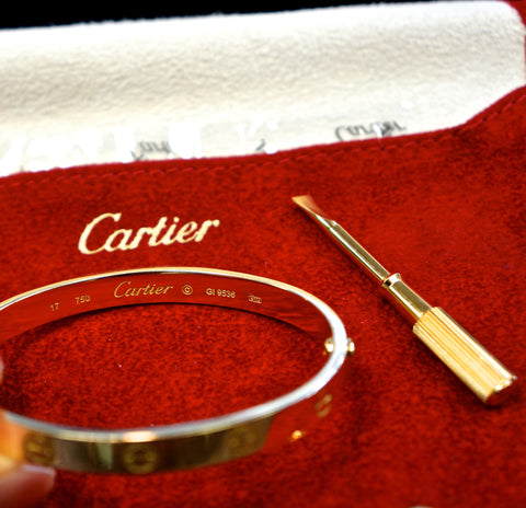 Cartier Love Bracelet SOLD